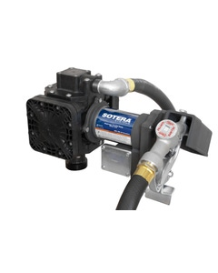 24V DC EXP 13GPM Heavy-Duty Lubricant Transfer Pump-n-Go, 90°Inlet
