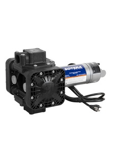 115V AC 13GPM Heavy-Duty Chemical Transfer Pump-n-Go, 90° Inlet