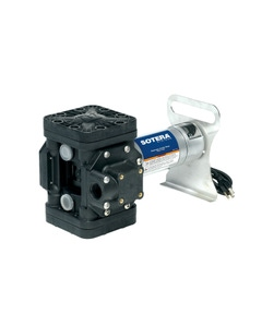 115V AC 13GPM Heavy-Duty Chemical Transfer Pump-n-Go, Flange Inlet