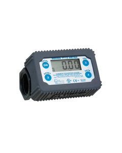 In-Line Digital Turbine Meter, NPT, Polymer